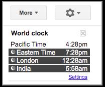 Google Calendar Time Zones
