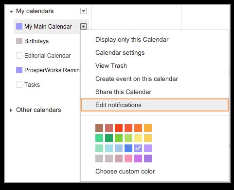Google Calendar Daily Agenda