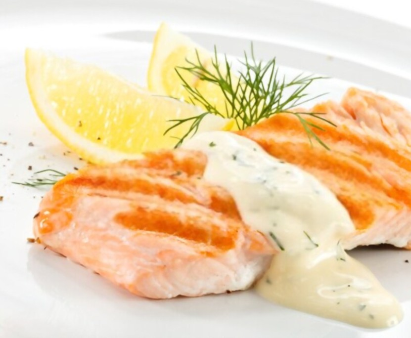 Salmon Lemon Sauce
