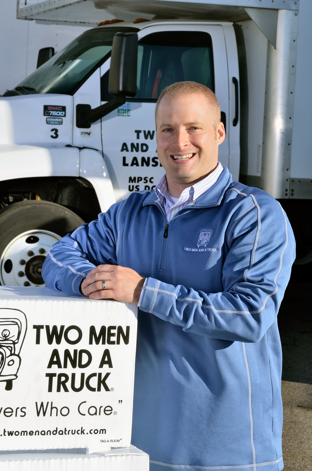 TWO MEN AND A TRUCK President Randy Shacka