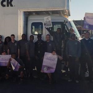 Las Vegas Crew Posing with Truck