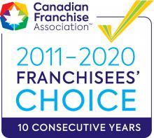 CFA Franchisees Choice 10 Consecutive Years