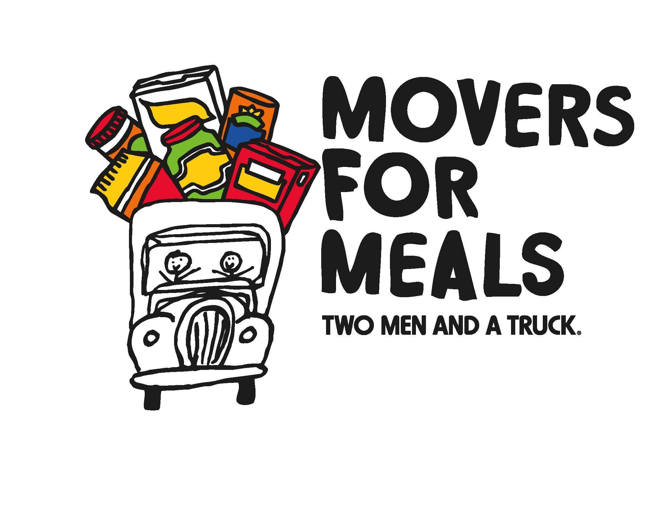 Movers for Meals food drive