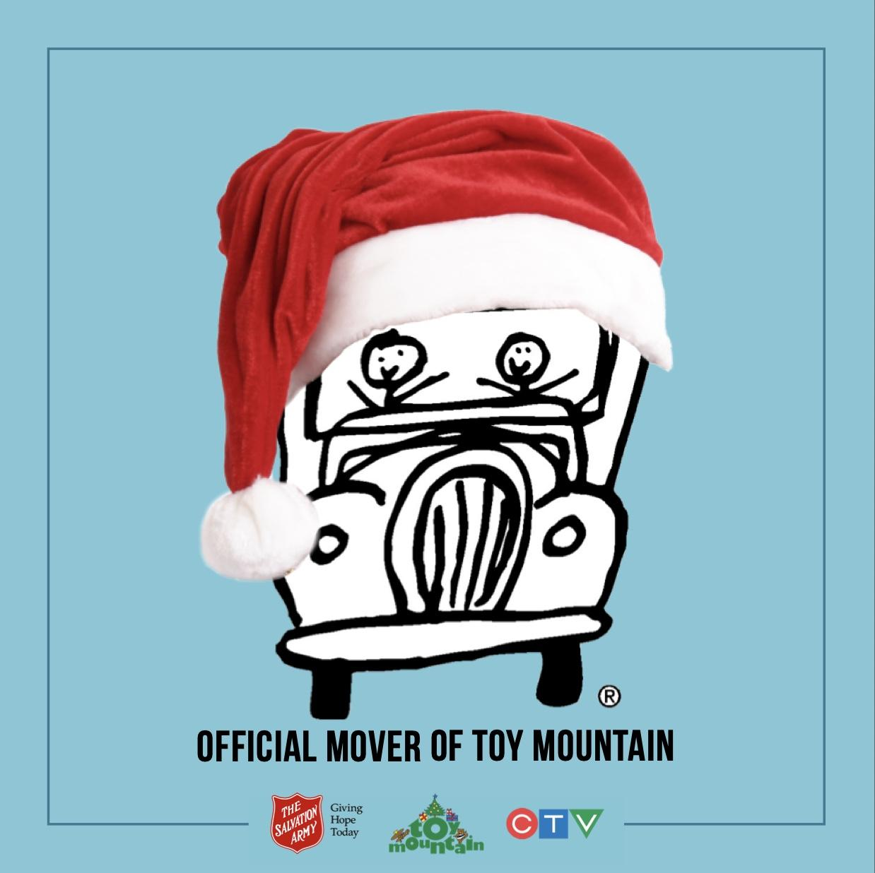 Very proud to have partnered with Toy Mountain for the 3rd consecutive year.