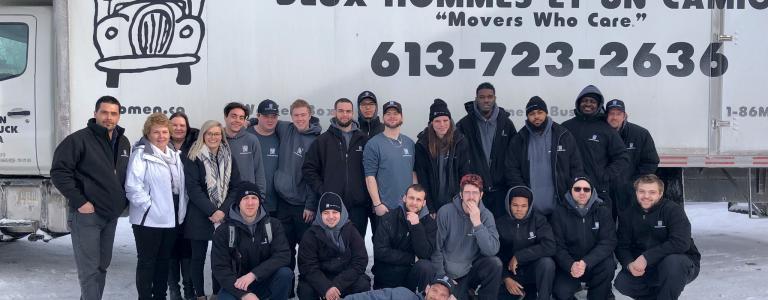 Ottawa movers team photo