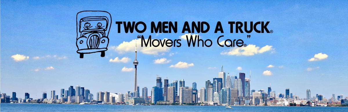 Two Men and a Truck Toronto Skyline