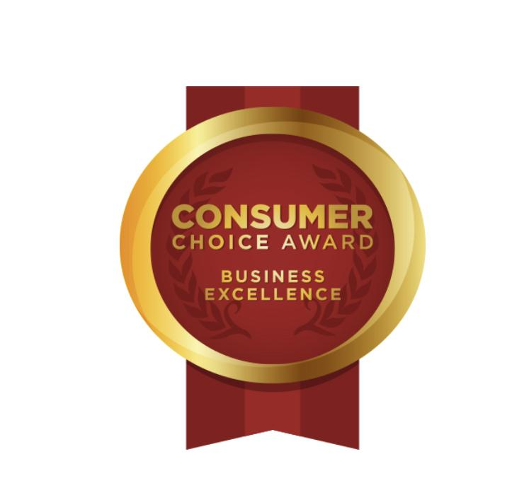 2019 Consumer Choice Award for Business Excellence in the Moving Category