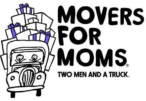 logo for movers for moms charity in memphis
