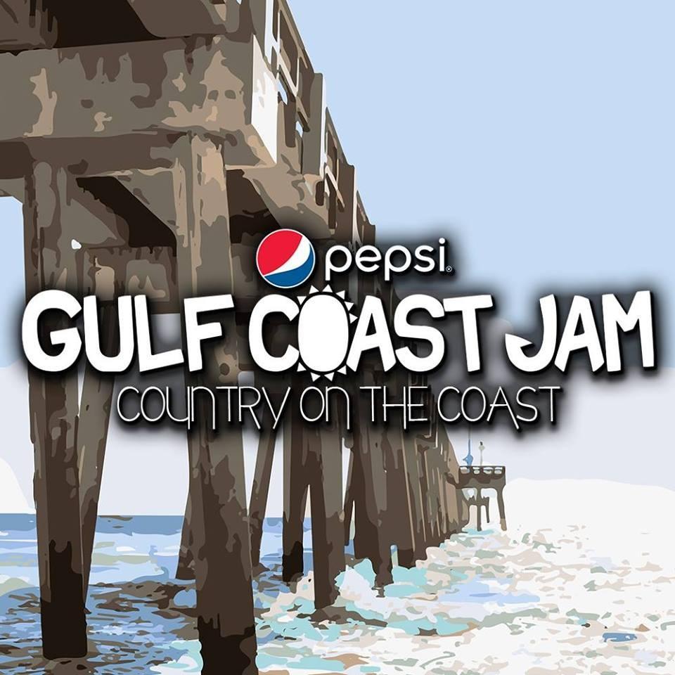 Gulf Coast Jam Logo
