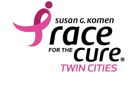 Race for the Cure twin cities minnesota logo
