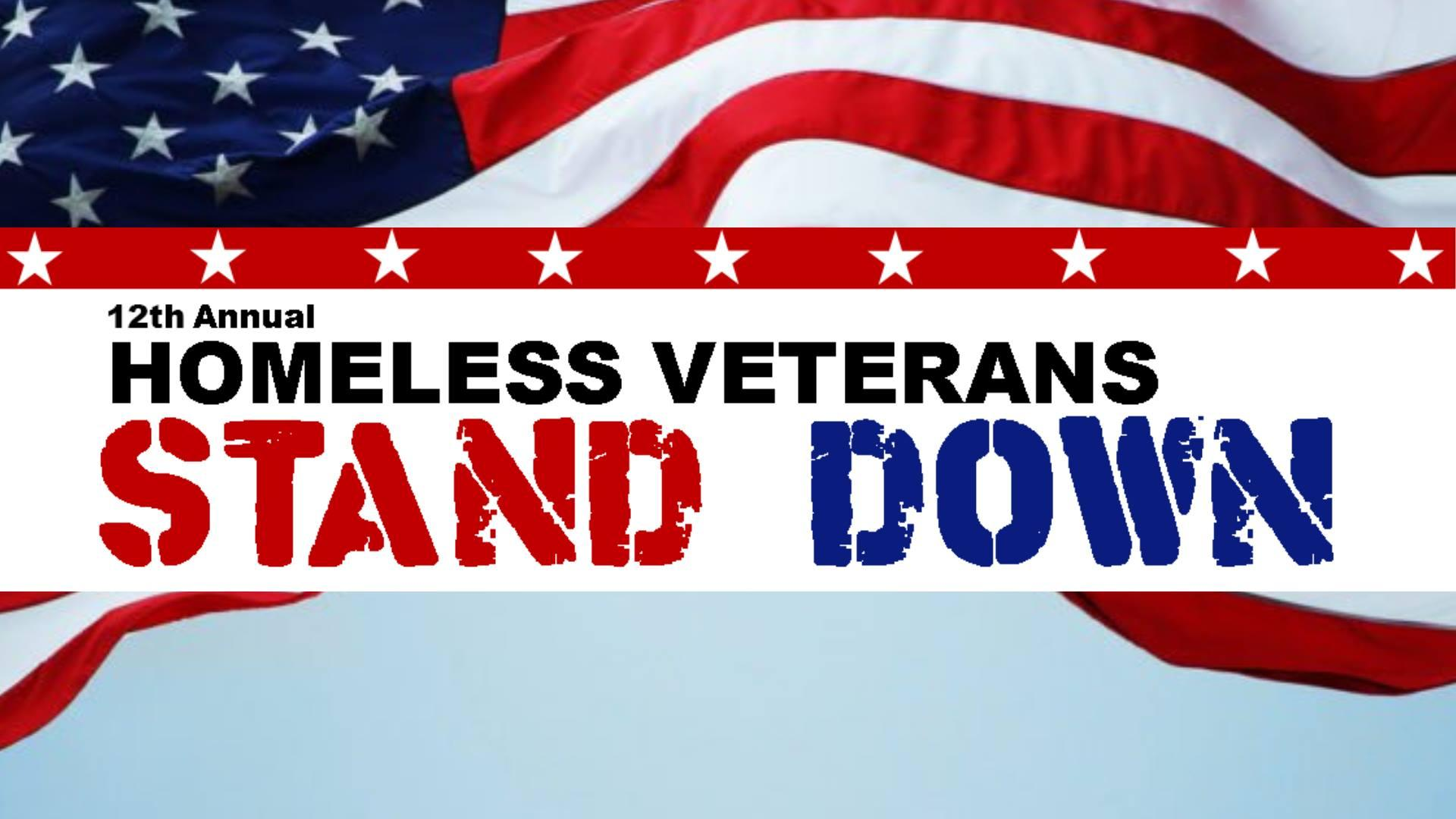 Annual Homeless Veterans Stand Down