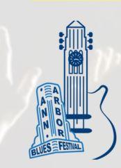 Ann Arbor Blues Festival Logo