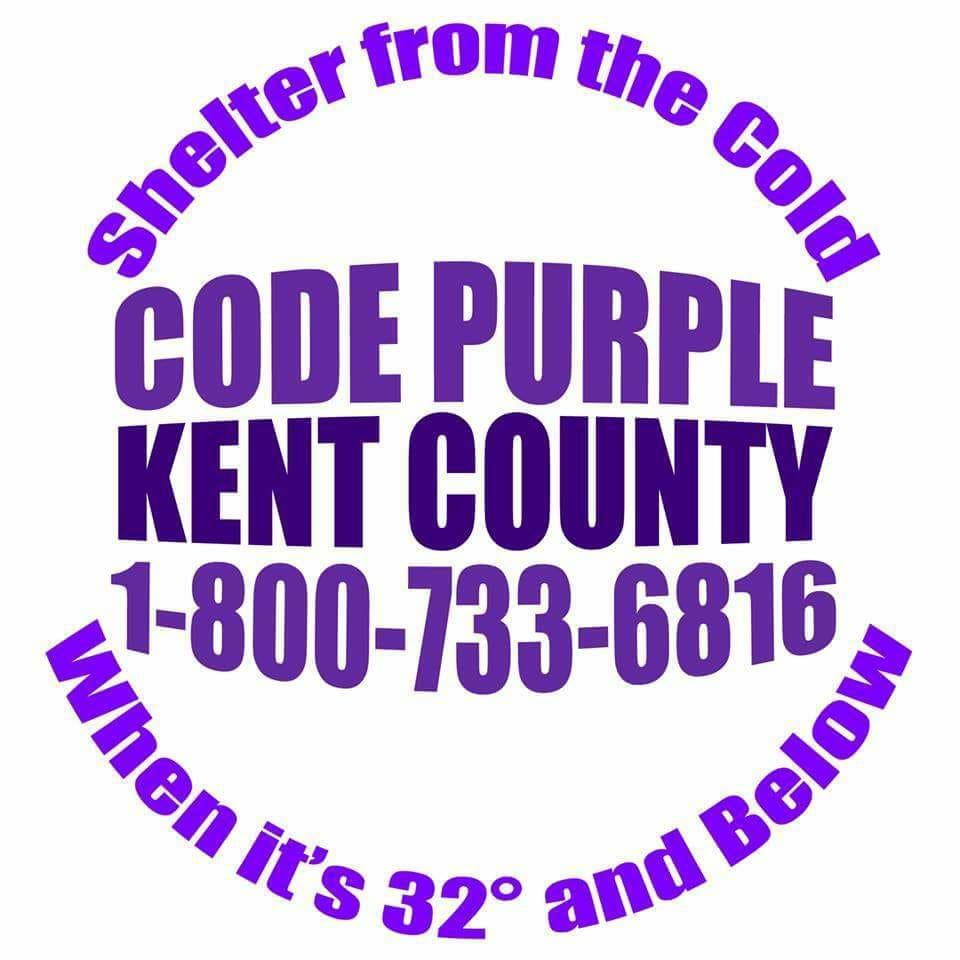 Code Purple Kent County