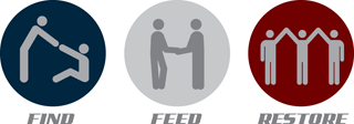 Find Feed Restore Orlando, Florida logo