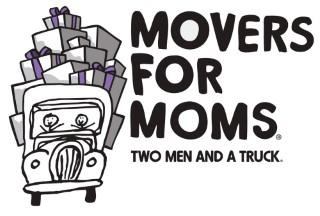 Two Men and a Truck Movers for Moms logo