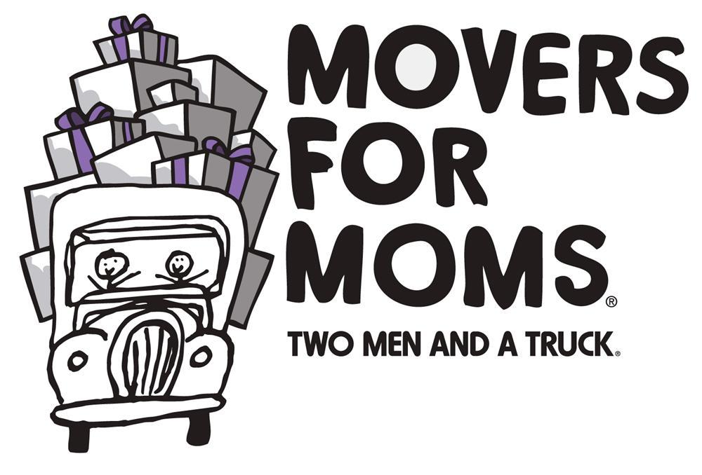 TWO MEN AND A TRUCK moving company - Movers for Moms logo