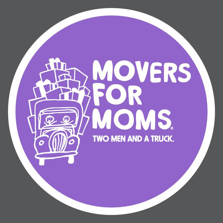 logo for Movers for Moms charity drive
