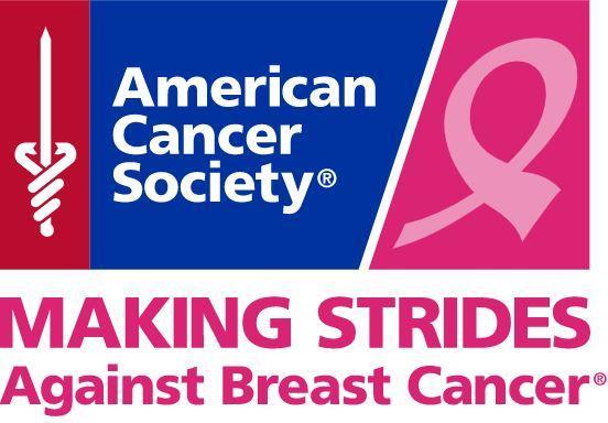 Making Strides Breast Cancer Walk Logo