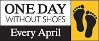 One day without shoes logo