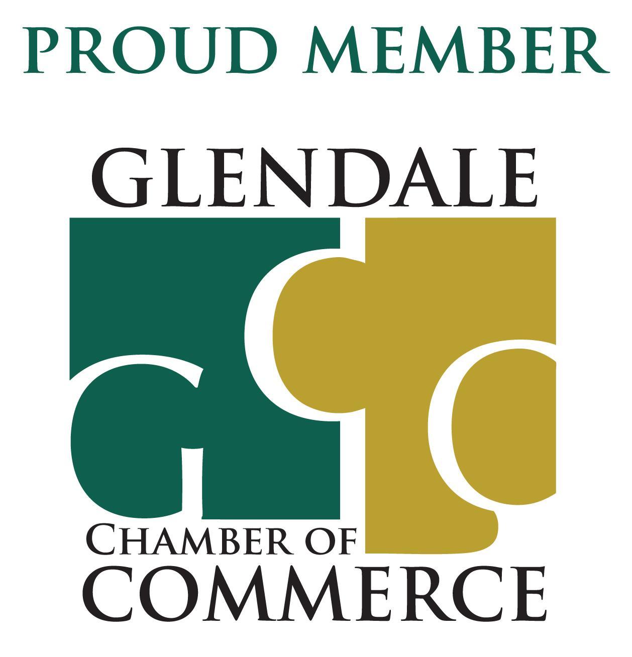 Glendale Chamber of Commerce Proud Member Logo