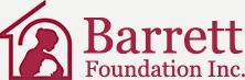 logo for the Barrett foundation charity in Albuquerque