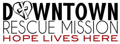 logo of downtown rescue mission