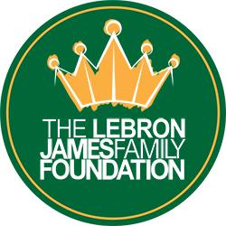 Lebron James Family Foundation logo