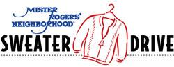 mister rogers sweater drive logo