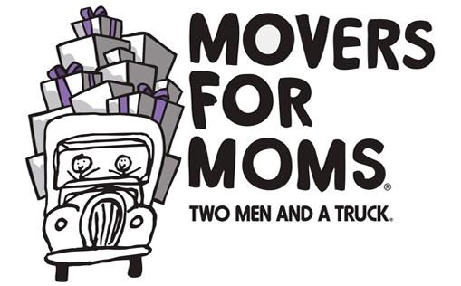 Movers for Moms, Moms in need, Mothers day charity
