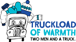 Logo for Truckload of Warmth charity in fort wayne