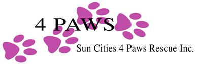 4 Paws Rescue Shelter logo
