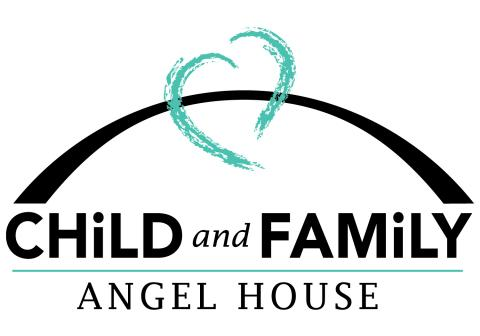 child and family charities angel house logo