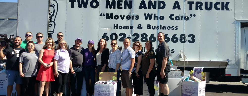 Two Men and a Truck Movers for Moms Phoenix Central 2018