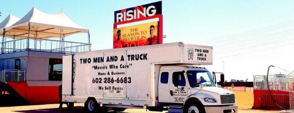 Two Men and a Truck Phoenix Rising Moving Partnership Tempe Arizona