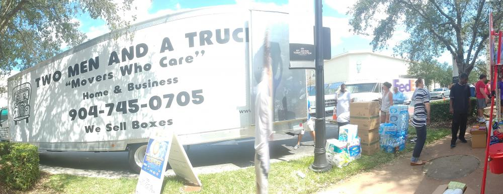 two men and a truck and Salvation Army of Northeast Florida