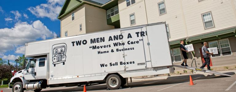 TWO MEN AND A TRUCK Apartment Movers