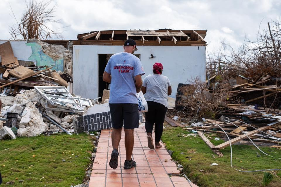 Convoy of Hope brings relief to residents of Abaco, The Bahamas