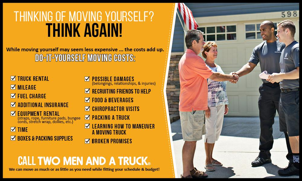 DIY Moving Costs