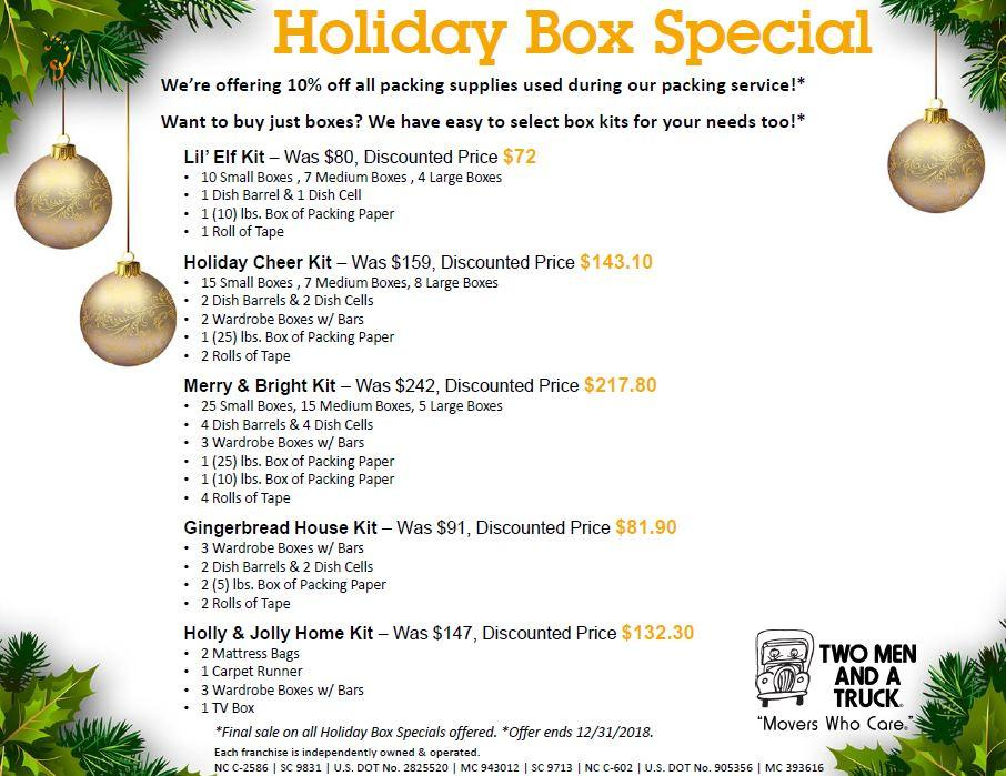 Holiday Box Special