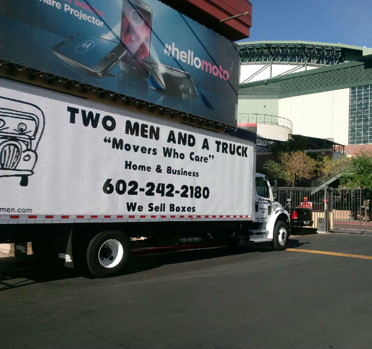 TWO MEN AND A TRUCK Moving Company Downtown Phoenix
