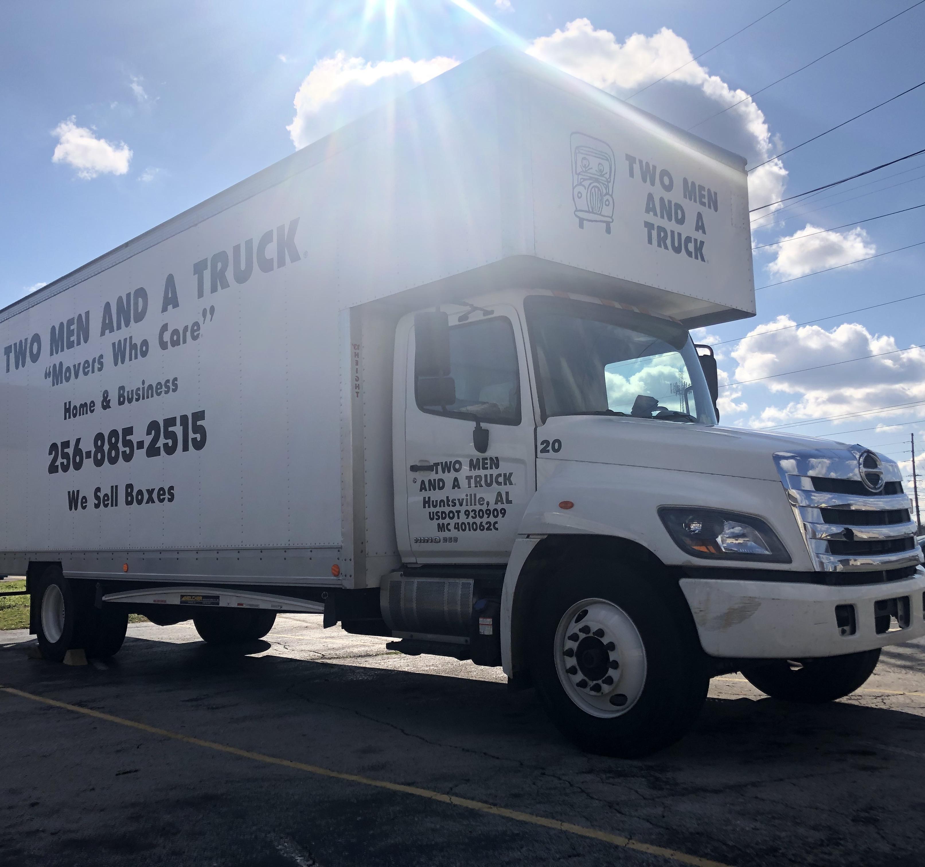 Two Men And A Truck Huntsville Truck