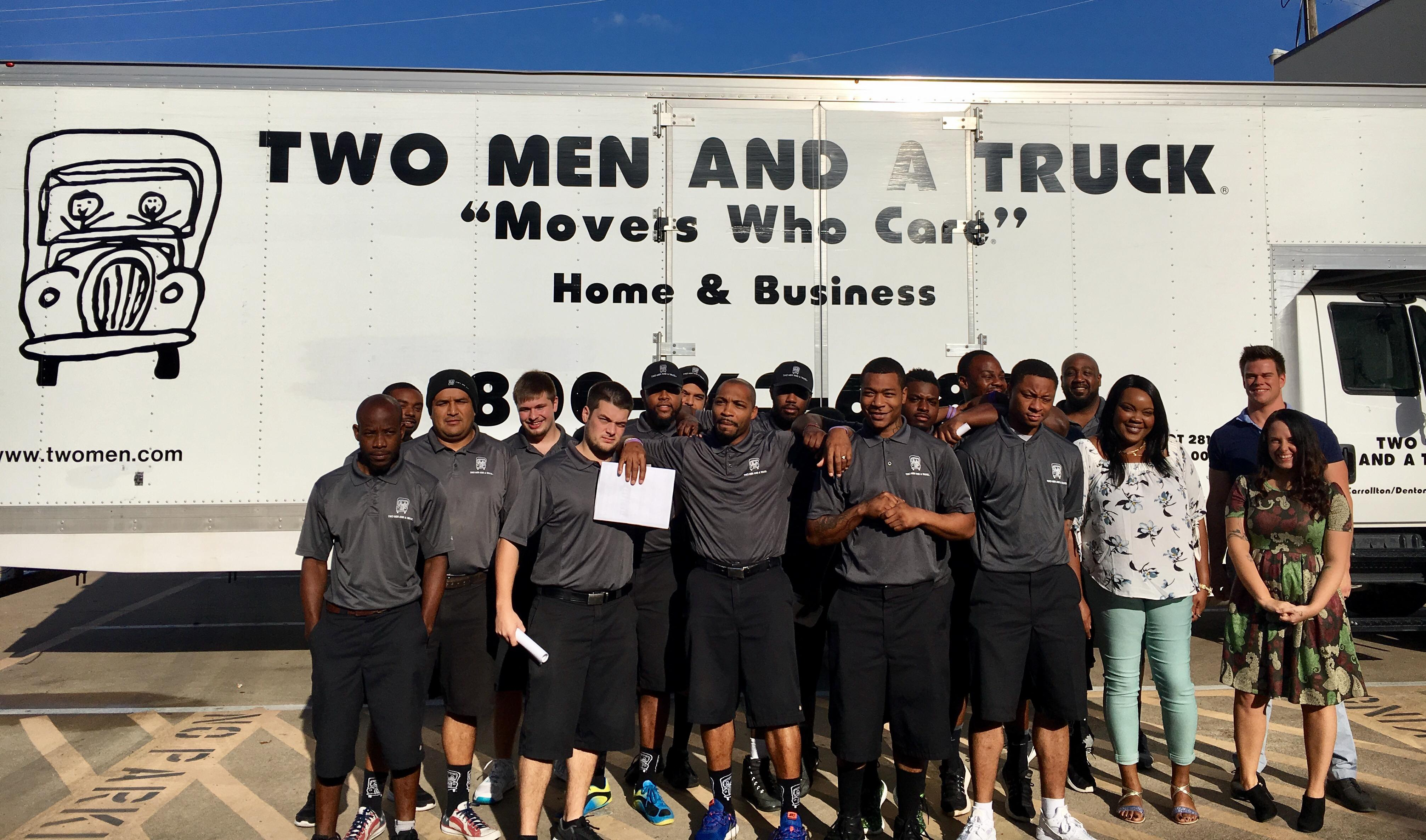 Fabulous Movers In Carrollton Tx Two Men And A Truck Download Free Architecture Designs Grimeyleaguecom