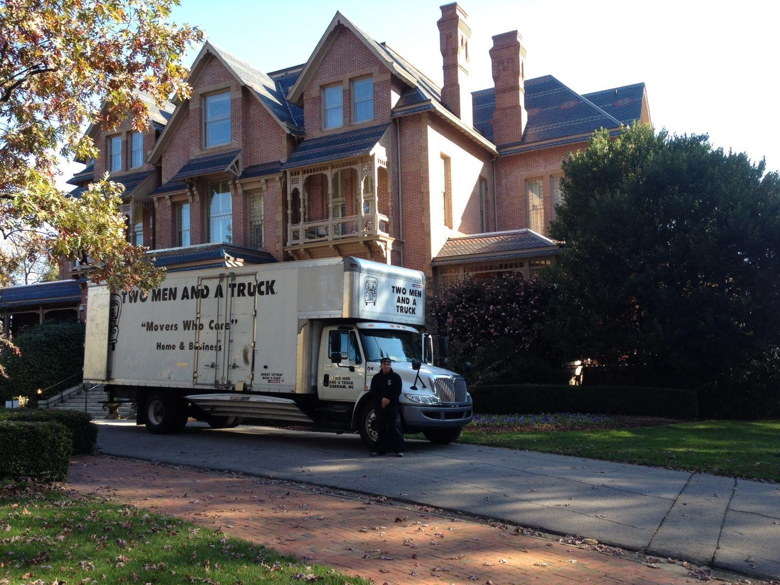 Movers in Raleigh, NC | TWO MEN AND A TRUCK