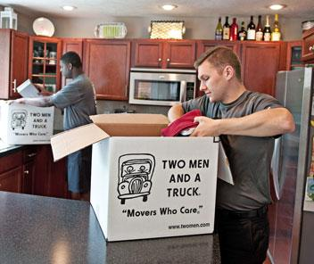 Movers in Racine, WI | TWO MEN AND A TRUCK