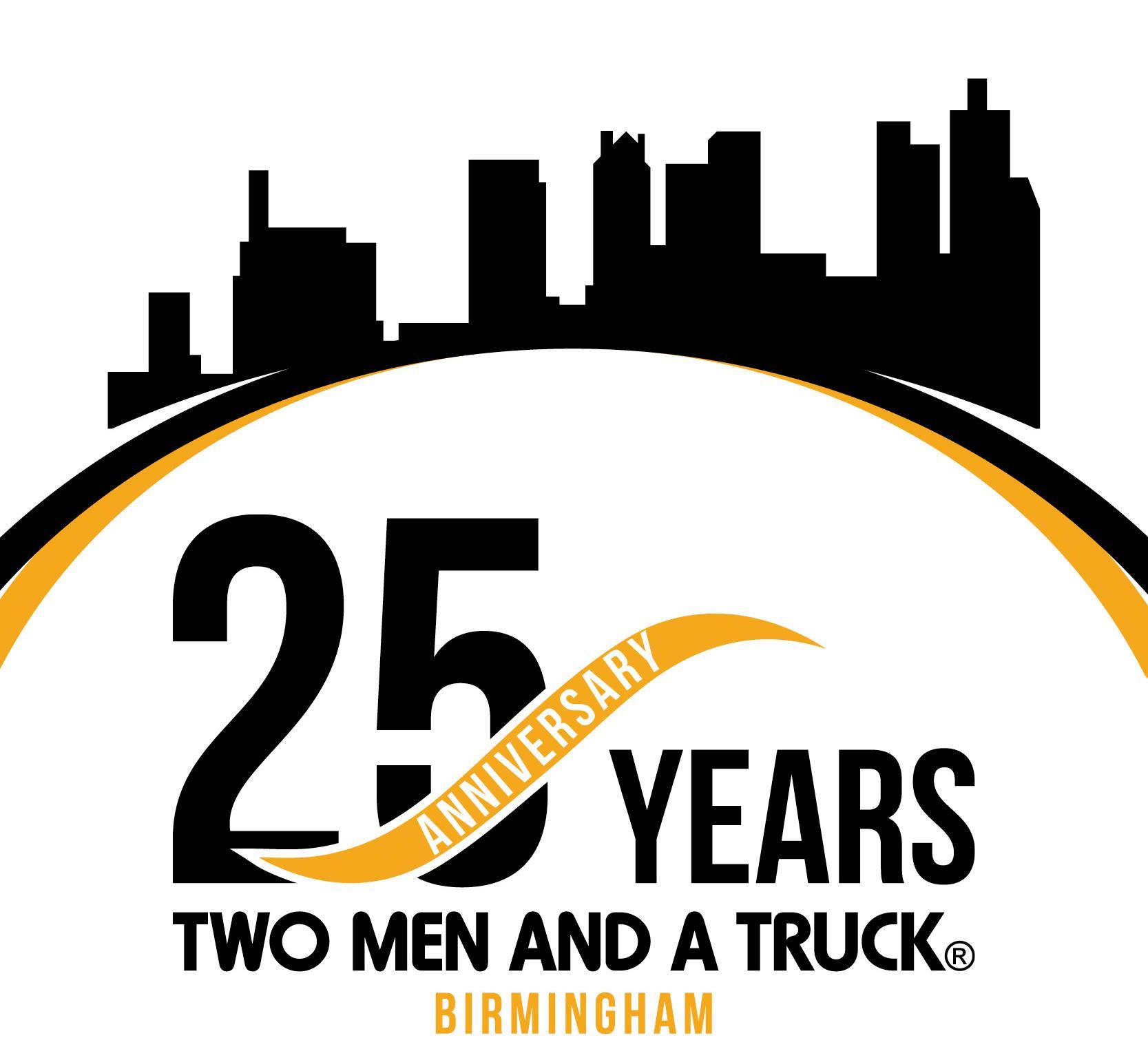 celebrating 25 years of moving in Birmingham Alabama