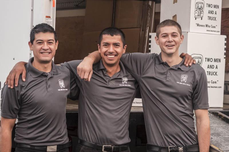 two men and a truck is a moving company in madison with 25 years of experience