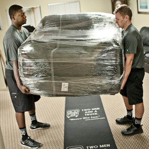 Pickup and Delivery of Your Furniture