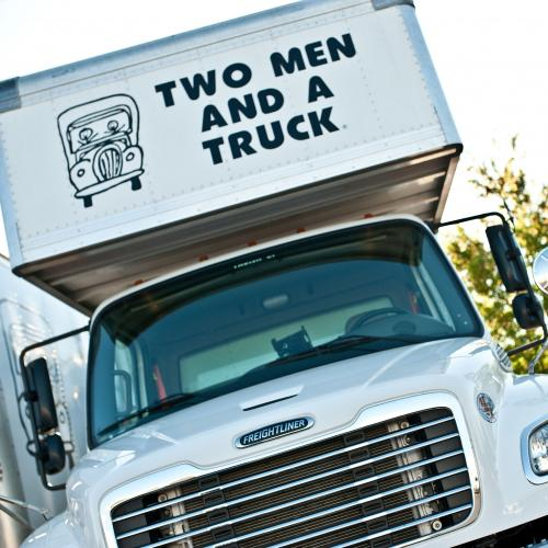 TWO MEN AND A TRUCK Moving Truck