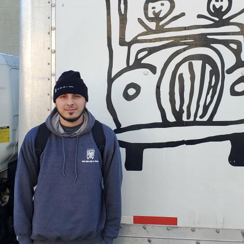 Marlon Zamudio, mover of the month for two men and a truck