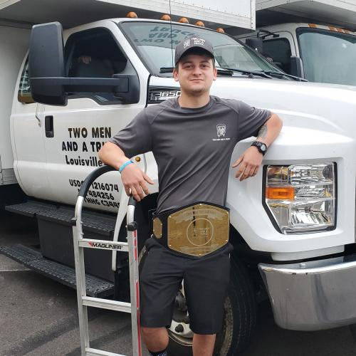 TWO MEN AND A TRUCK Mover of the Month Aaron
